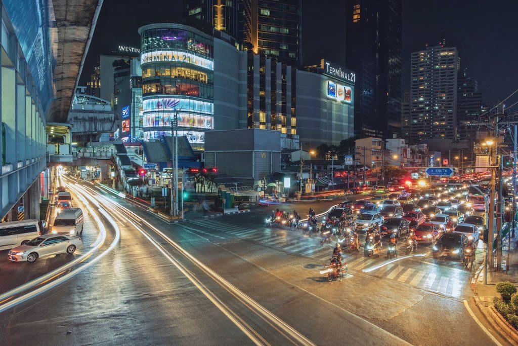 รถติดในเมือง , ฝุ่นและควันพิษ , เครื่องฟอกอากาศในรถยนต์